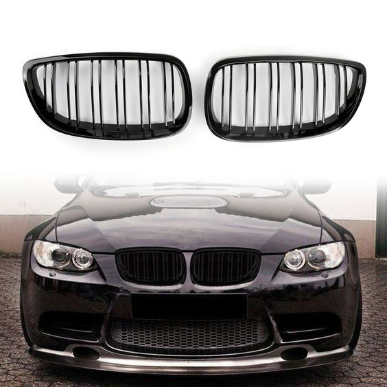 Mad Hornets Kidney Grille Grill Double Slots Bmw E92 E93 3 Series Coupe 2 Door 2006 07 2013 Gloss Black 46 99 Http Www Madhornets C Bmw Custom Bmw Coupe