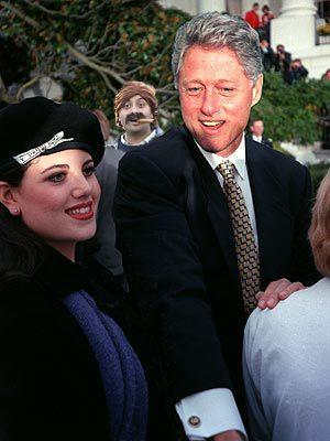Monica and Bill.