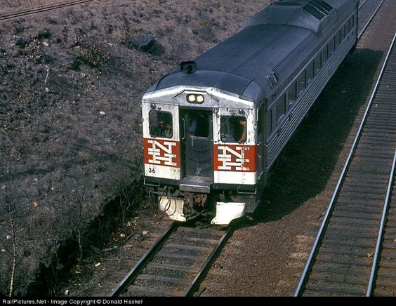 RailPictures.Net Photo: NH 36 New York, New Haven & Hartford Railroad Budd RDC 3 at Canton, Massachusetts by Donald Haskel