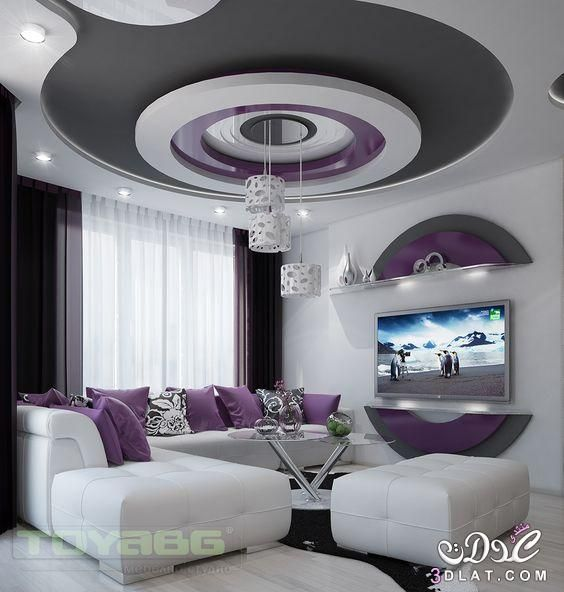 ديكورات مودرن 2019 بورد نوم مجالس صالونات 3dlat Net 01 17 2ecc Ceiling Design Living Room Bedroom False Ceiling Design Luxury Living Room Design