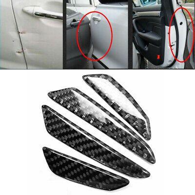 4Pcs Black Sticker Car Van Door Anti Collision Scratch Edge Gurads Protector