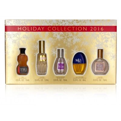 Dana Mini Set: Tabu EDC, Chantilly EDT, Chantilly Eau de Vie EDT, Navy, Tabu Rose EDT