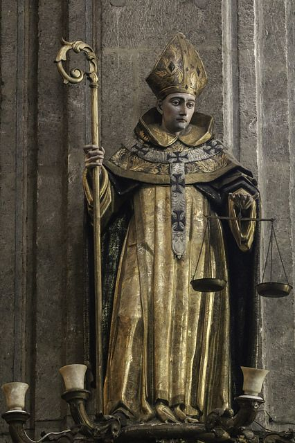 Saint Antoninus This 18th-century statue of the saint, dressed as Archbishop of Florence, is in the church of Santo Domingo in Mexico City. | by Lawrence OP:
