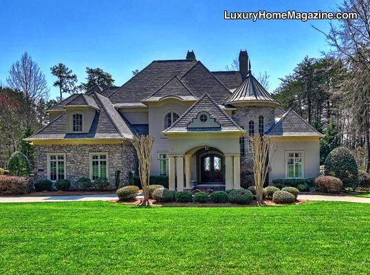 Custom home design in north carolina architecture for Custom house charlotte