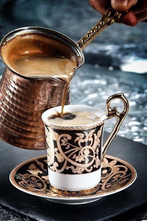 Türk kahvesi, Café turco, Turquía