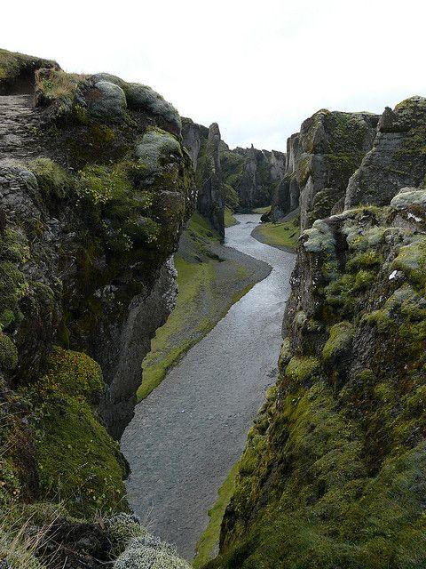 Canyon de Fjadrargljufur, Iceland