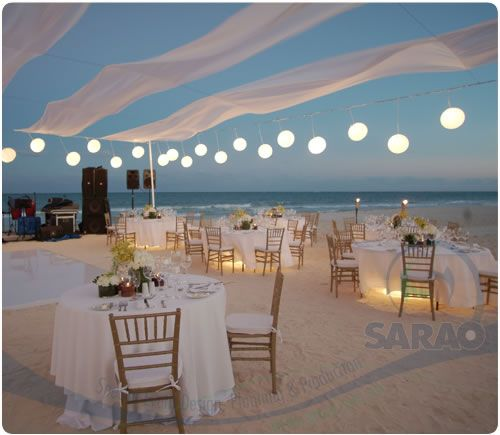 Reception Set Up At The Moon Palace Resort In Cancun Resorts Weddings Mexico Wedding Photographers Del Sol Photography Dinner Recepti