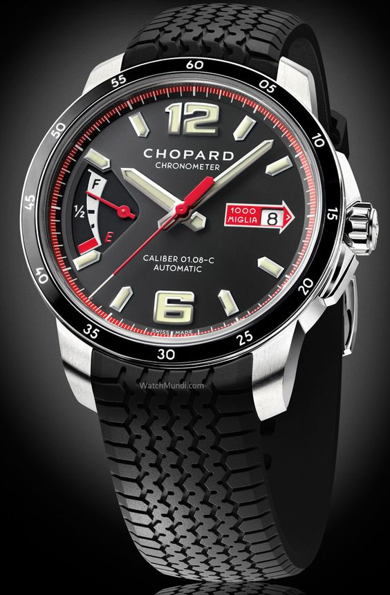 Chopard - Mille Miglia GTS Power Control. Contemporary aesthetic and vintage spirit for a Chopard grand classic