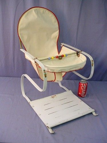 Vintage Baby Bouncy Jumper Seat Chair Great For Dolls Or