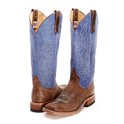 BootDaddy Collection with Anderson Bean Brown Cowgirl Boots