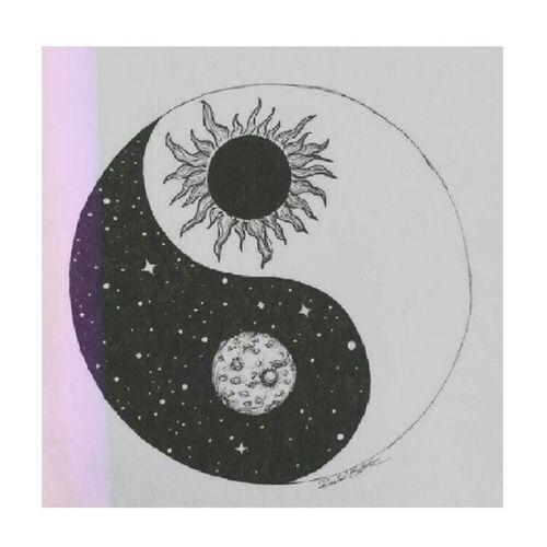 Tatouage ying yang soleil for Chambre yin yang