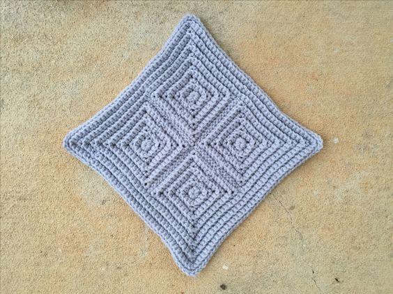 textured square