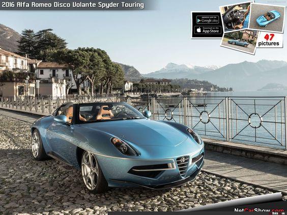 Alfa Romeo Disco Volante Spyder Touring (2016)