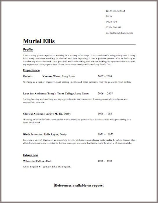 Learn Report Writing Skills Home Study Business Cv Template