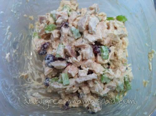 COPYCAT: Starbucks Tarragon Chicken Salad Sandwich. LOVE this! Just made it for lunch :)