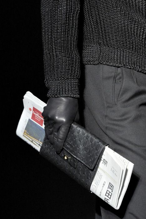 Newspaper wallet