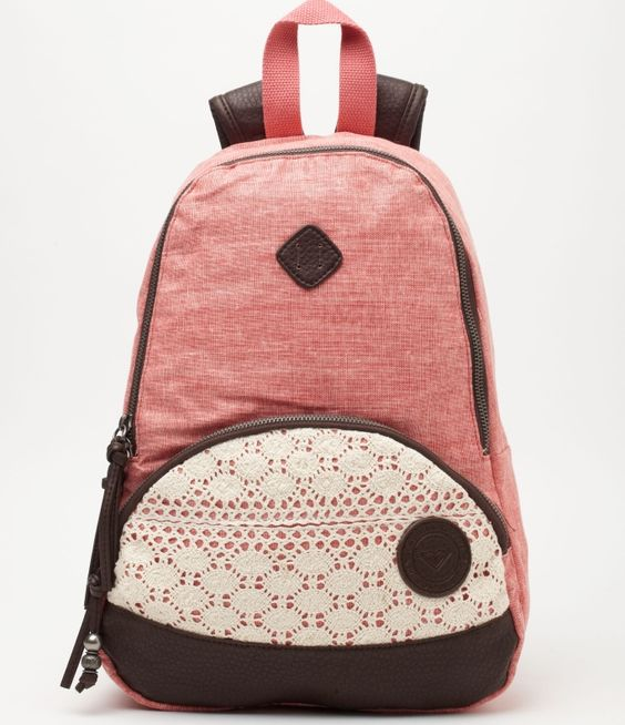 Roxy mini backpack :) just ordered this for school! :))