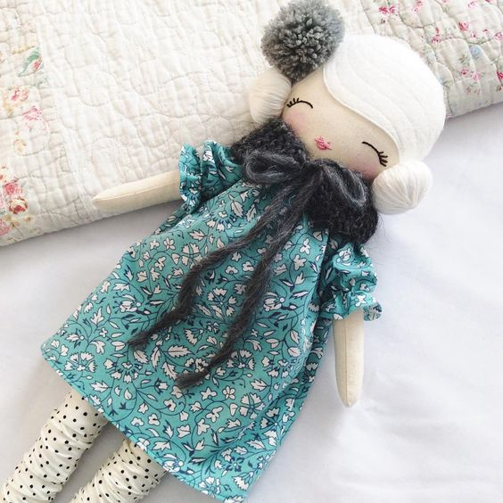 Little Miss Tippy Toes For handmade dolls that have interchangeable eyes and mouths, visit jessicadolls.com!