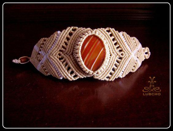 Macrame Bracelet Caramel #macrame #bracelet #jewelry