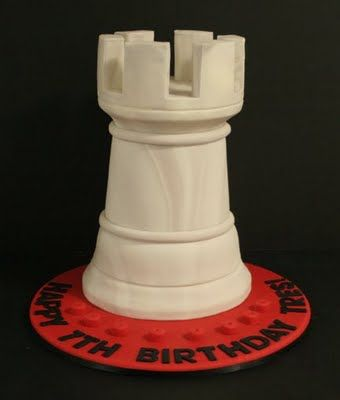 Great cake for a chess fan