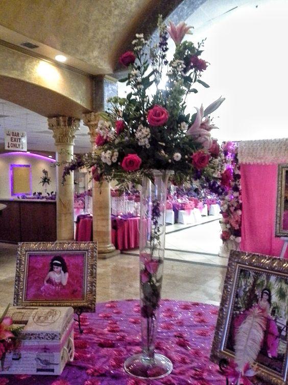 Mesa de firmas arreglo flor natural especial para la - Decoraciones de mesas ...