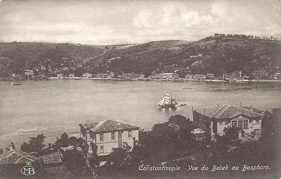 Archive postcard views of Bebek