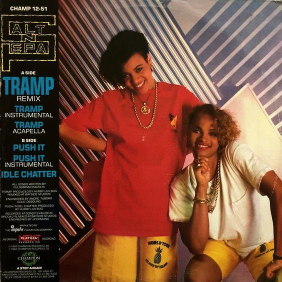 Salt-N-Pepa – Tramp (single cover art)