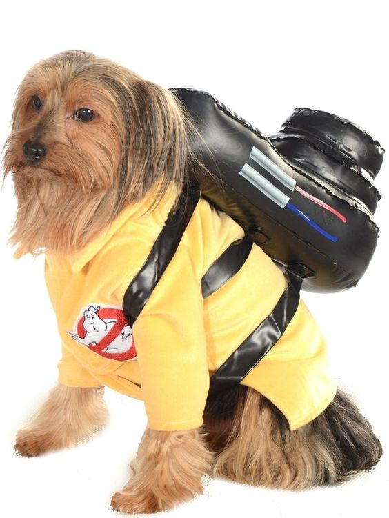 Check out Dog's Ghostbusters Jumpsuit Costume - Wholesale Pet Costumes for…
