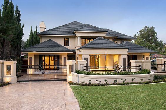 Zorzi Custom Luxury Home House Designs Exterior Luxury House Plans Dream House Plans