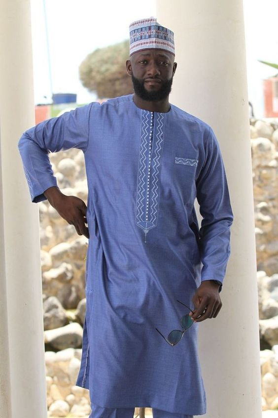 kaftan Styles for Hausa Dudes