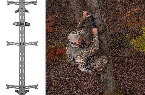 4 Hawk Helium 1pl Aluminum Climbing Stick For Treestand In 2020 Climbing Stands Steel Frame Construction Climbing