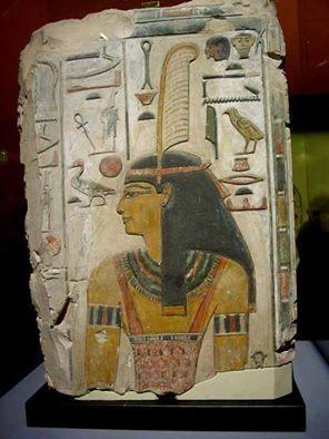 Maat o Ma'at, símbolo de la Verdad, la Justicia y la Armonía cósmica; también era representada como diosa, la hija de Ra en la mitología egipcia.