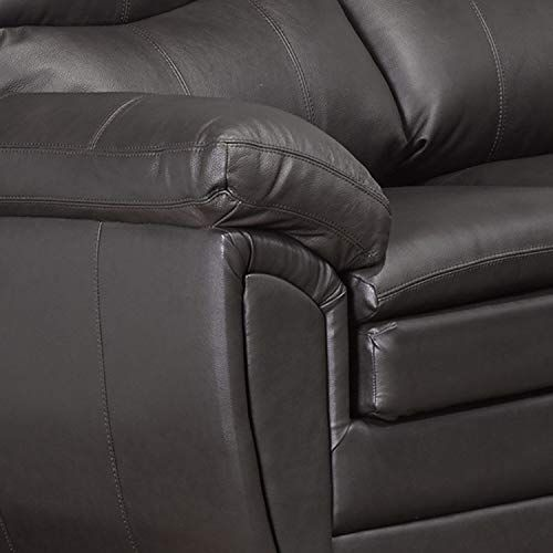 Sofaweb Com Upton Premium Brown Top Grain Leather Sofa And Loveseat Top Grain Leather Sofa Leather Sofa And Loveseat Love Seat