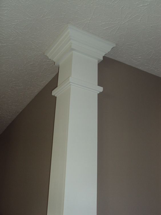 Decor pillars decorative columns crown mouldings autos post Crown columns