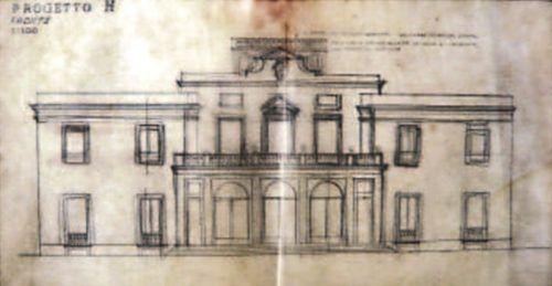 O projeto H aprovado de Tomaso Buzzi, dos 7 outros apresentados à Matarazzo.