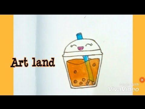 رسم سهل رسم كوب عصير كيوت Cute Juice Cup Drawing Youtube Art Enamel Pins