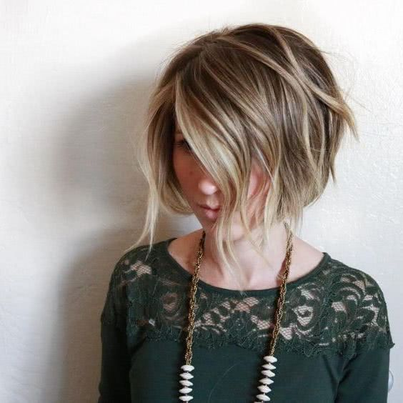 2020 Textured Bob Haircut With 30 Pics In 2020 Bob Hairstyles Short Hair Styles Bobs Haircuts