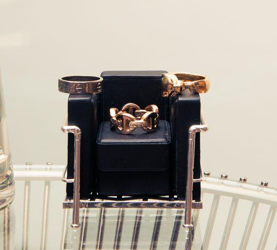 Rings Cartier and Hoorsenbuhs