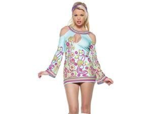 Go Sexy Vintage 60s 70s Disco Girl Costume Dress *