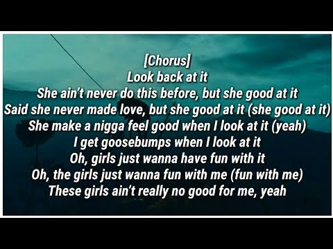 A Boogie Wit Da Hoodie Look Back At It Lyrics Youtube