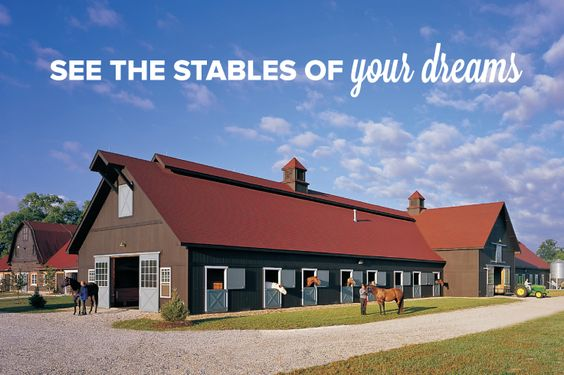 Download your Free Horse Barn Plan E-Book and discover the stables of your dreams. Whether you're thinking of a custom building for a large-scale equestrian facility or a no-nonsense single stall for your passionate hobby, we have the horse barn for you. Choose a leader since 1958. Choose FBi Buildings.