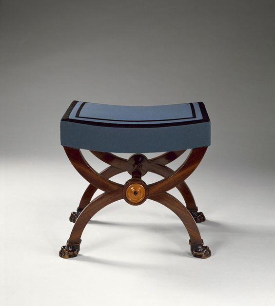 Jacob fr res salon de madame r camier gu ridon chaise - Chaise longue paris ...