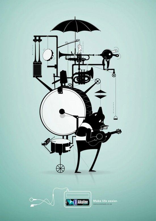 One Man Band - Ilustração