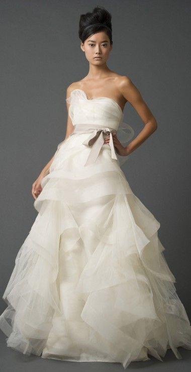 Robe de mariée Vera Wang  Robes  Pinterest  Vera Wang and Robes