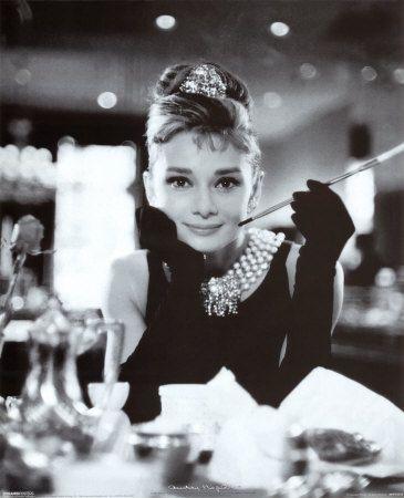 Theater Room: Poster Audrey Hepburn