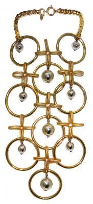 vintage 1960s Christian Dior Statement Necklace