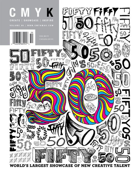 CMYK magazine 50