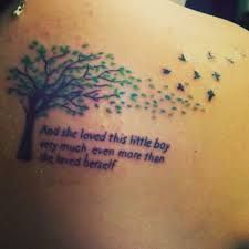 Image result for giving tree tattoos