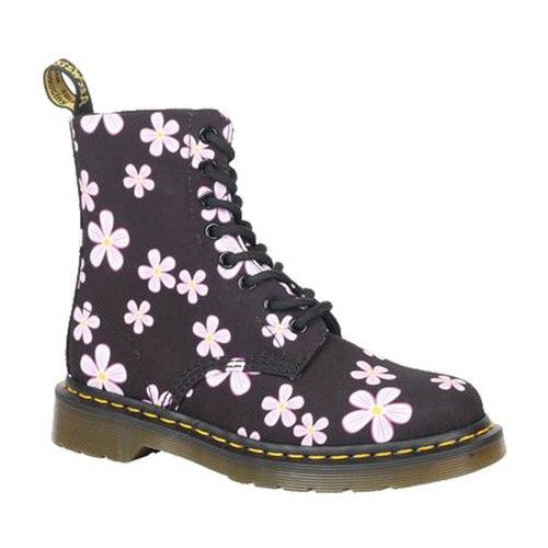 Black Meadow Flowers T Canvas | Boots
