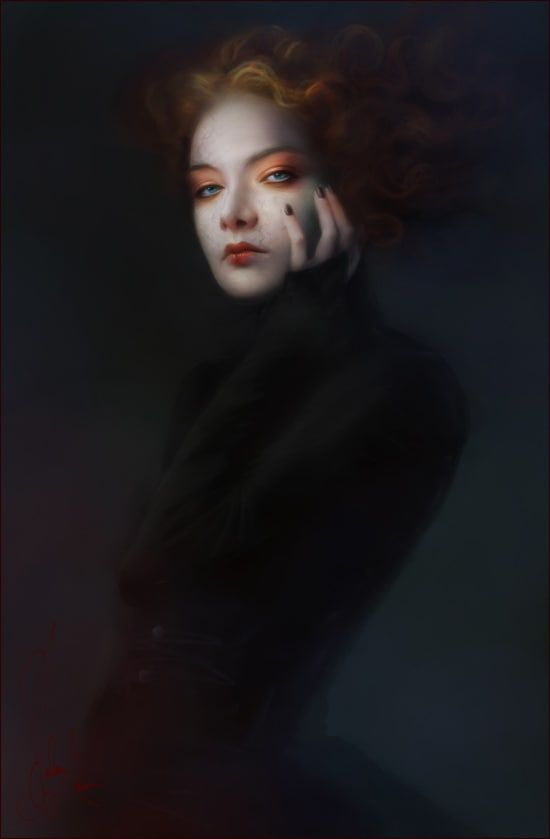Artist Melanie Delon